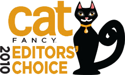 Cat Fancy Editor's Choice Award 2010