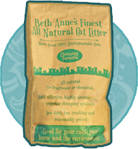 Beth-Anne's All Natural Cat Litter